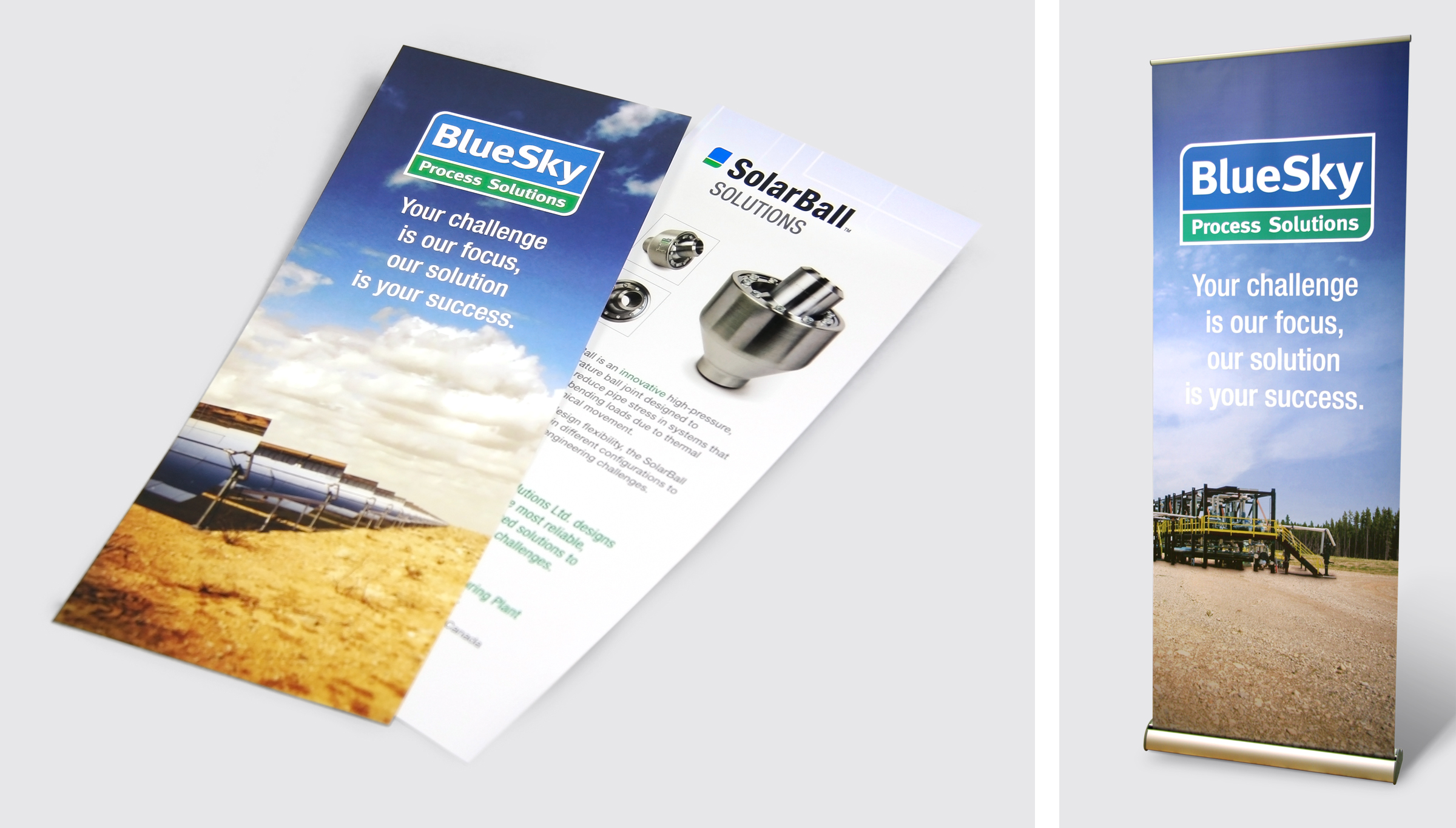 Brochure and Banner