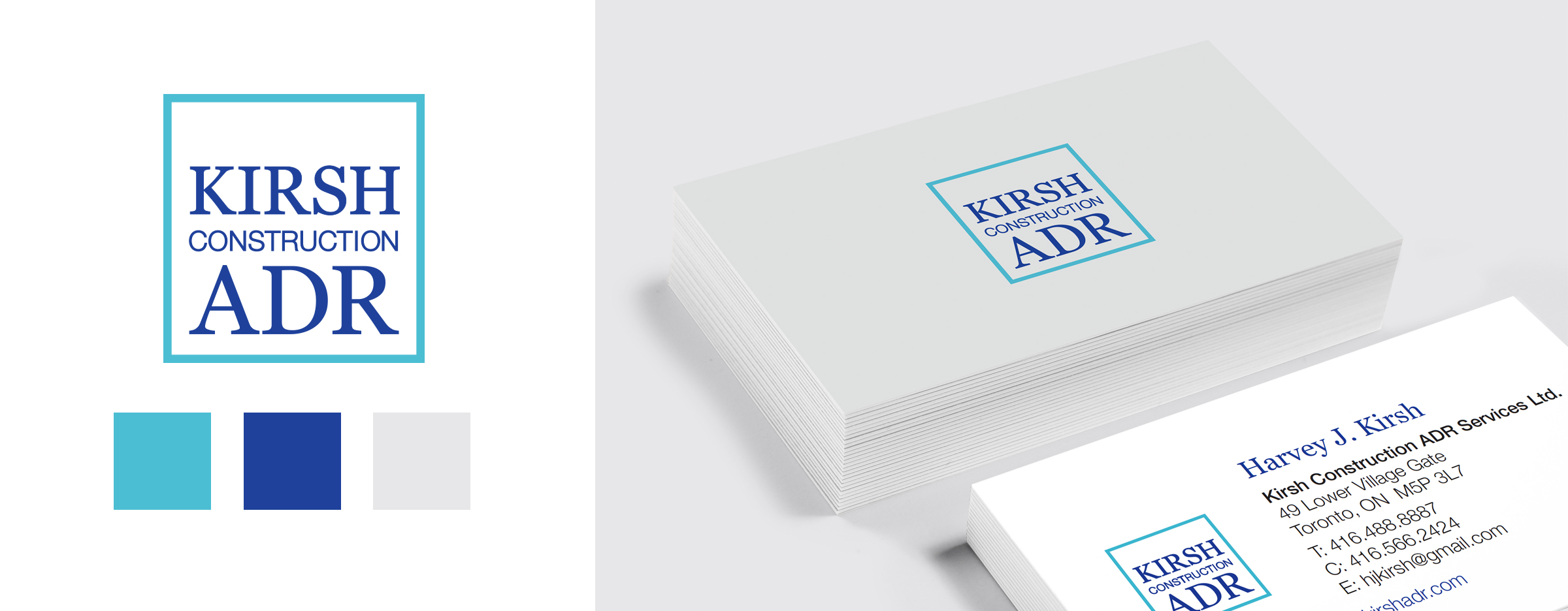 Logo, Colour Palette, Cards
