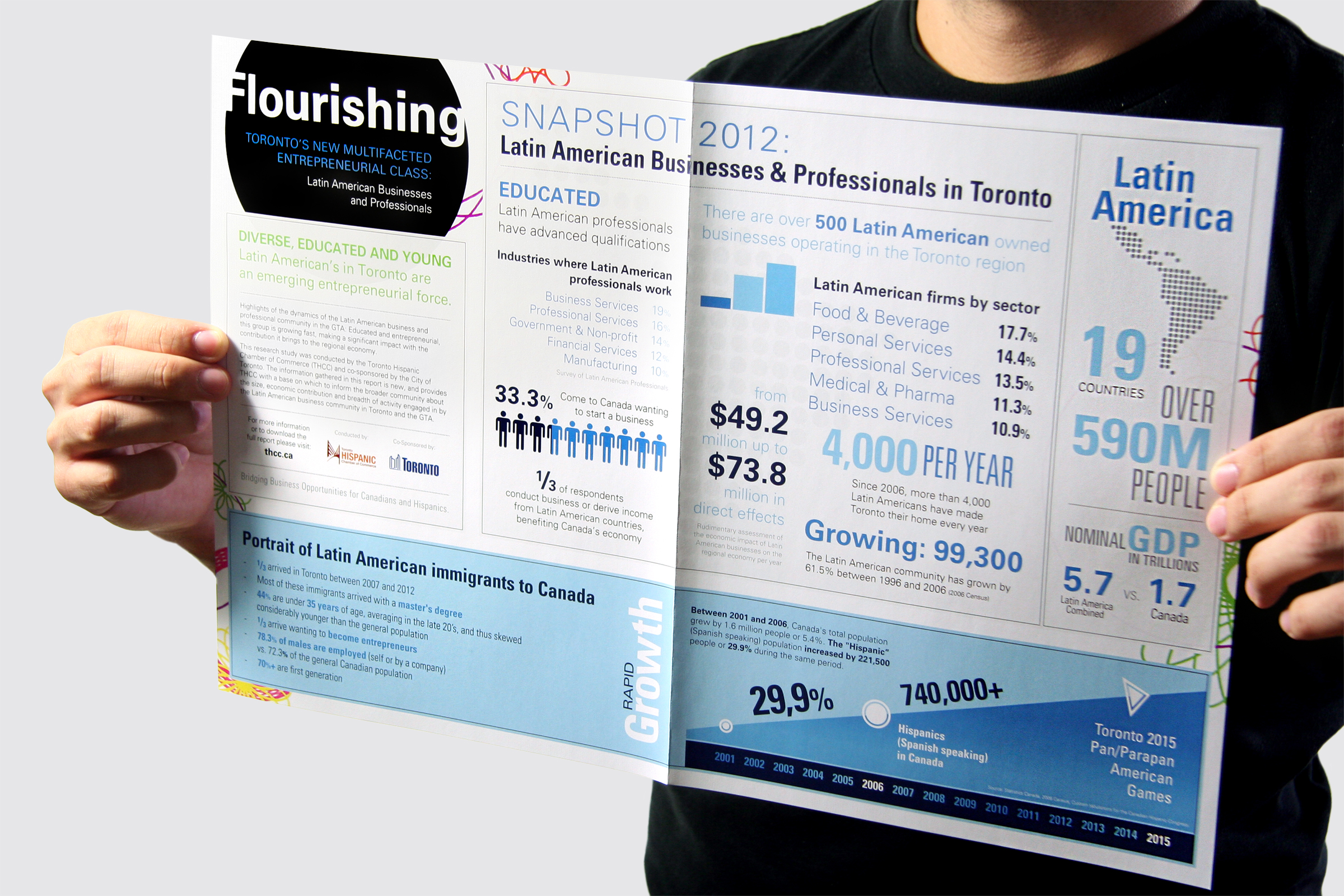 Flourishing Infographic